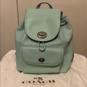 Coach mini back pack